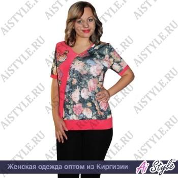 Арбузная блуза «Венера» большого размера