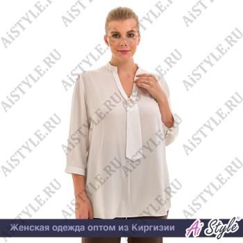 Белая блуза «Office»