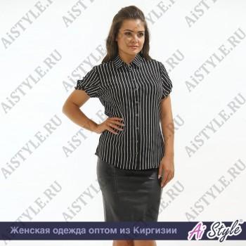 Черно-белая блузка «Whitestripe»