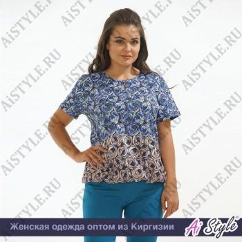 Блузка «Бутоны»