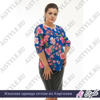 Блузка «Весенние цветы»